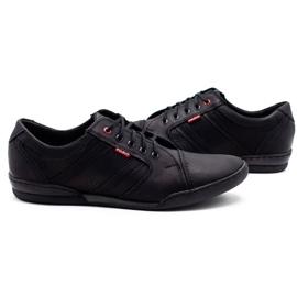 Polbut Men's casual shoes R3 Perforation Black 2