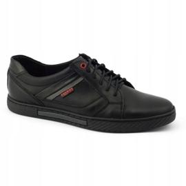 Polbut Black men's shoes J47 5