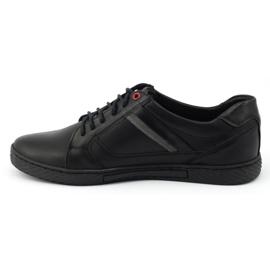 Polbut Black men's shoes J47 1