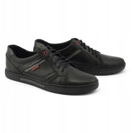 Polbut Black men's shoes J47 2
