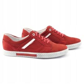 Polbut J47 red men's shoes 1
