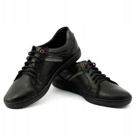 Polbut Black men's shoes J47 3