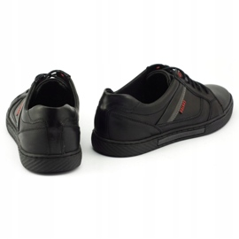 Polbut Black men's shoes J47 4