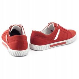 Polbut J47 red men's shoes 4