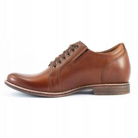 Olivier Brown men's elevating shoes P24 1