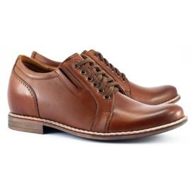 Olivier Brown men's elevating shoes P24 2