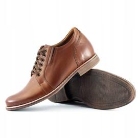Olivier Brown men's elevating shoes P24 3
