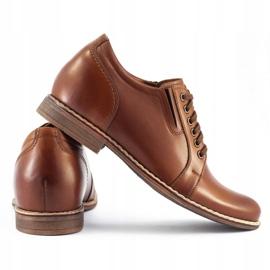 Olivier Brown men's elevating shoes P24 4