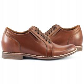 Olivier Brown men's elevating shoes P24 5