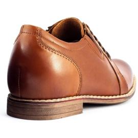 Olivier Brown men's elevating shoes P24 6