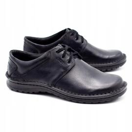 Joker Men's leather shoes 229 black 2