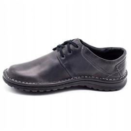 Joker Men's leather shoes 229 gray grey 1