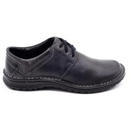 Joker Men's leather shoes 229 gray grey 2