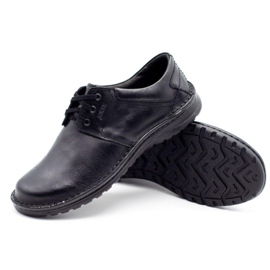 Joker Men's leather shoes 229 black 3