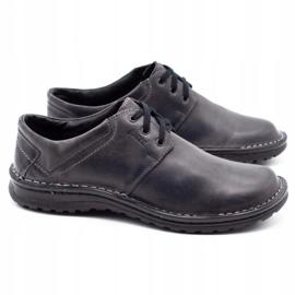 Joker Men's leather shoes 229 gray grey 3