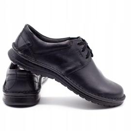 Joker Men's leather shoes 229 black 4