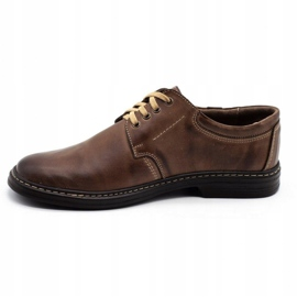 Joker Leather men's shoes 415 brown 1