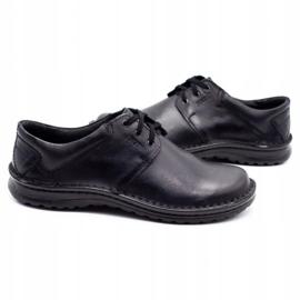 Joker Men's leather shoes 229 black 5
