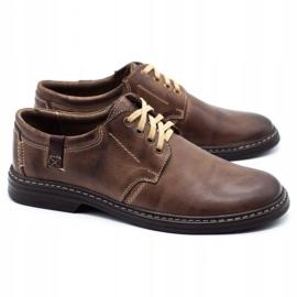 Joker Leather men's shoes 415 brown 2