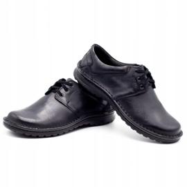 Joker Men's leather shoes 229 black 6