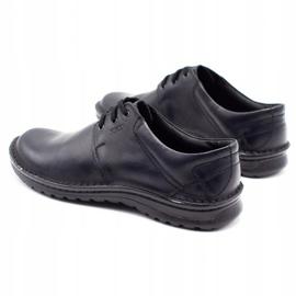 Joker Men's leather shoes 229 black 7