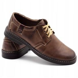 Joker Leather men's shoes 415 brown 4