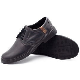 Joker Leather men's shoes 415 gray grey 3