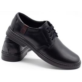 Joker Leather men's shoes 415 black 4