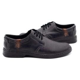 Joker Leather men's shoes 415 gray grey 5