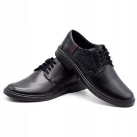 Joker Leather men's shoes 415 black 6