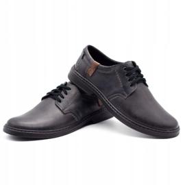 Joker Leather men's shoes 415 gray grey 6