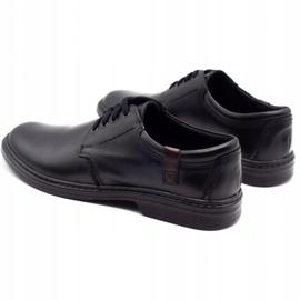Joker Leather men's shoes 415 black 7
