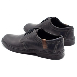 Joker Leather men's shoes 415 gray grey 7