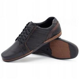 Mario Pala Men's leather shoes 616 black 7