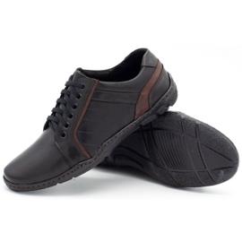 Mario Pala Men's leather shoes 616 black 8