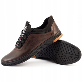 Polbut K24 brown casual leather men's shoes 2