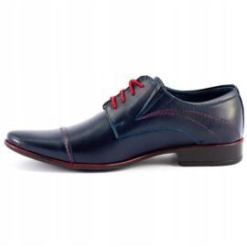 Lukas Men's formal shoes 238 navy blue 1