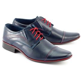 Lukas Men's formal shoes 238 navy blue 2