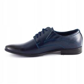 Lukas Men's formal shoes 256 navy blue 5