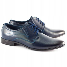 Lukas Men's formal shoes 256 navy blue 1