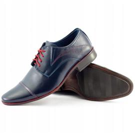 Lukas Men's formal shoes 238 navy blue 3