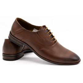 Lukas Men's formal shoes 291 brown 4