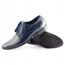 Lukas Men's formal shoes 256 navy blue 2