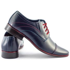 Lukas Men's formal shoes 238 navy blue 4