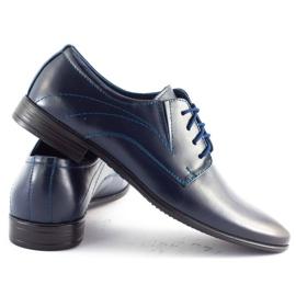 Lukas Men's formal shoes 256 navy blue 3