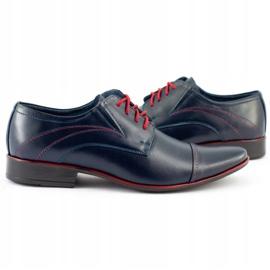 Lukas Men's formal shoes 238 navy blue 5