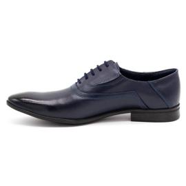 Lukas Men's formal shoes 291 navy blue 1