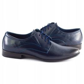 Lukas Men's formal shoes 256 navy blue 4