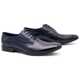 Lukas Men's formal shoes 291 navy blue 2