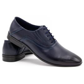Lukas Men's formal shoes 291 navy blue 4